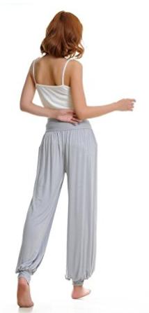 Ropa Deportiva suave de la mujer Yoga pantalón Bloomers Genuine 95% modal