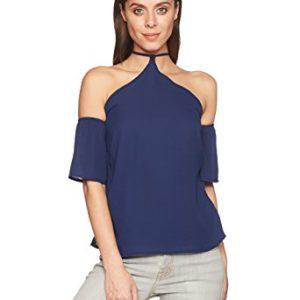 Ferriano BP00793 Blusa para Mujer, color Azul