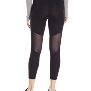 HUE Women's Made to Move Mesh Knee Active Shaping Skimmer