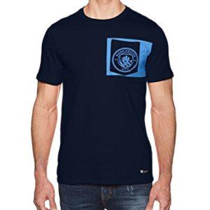 Nike 832670-451 Jersey para Hombre, Manchester City FC, color Obsidian, talla Grande