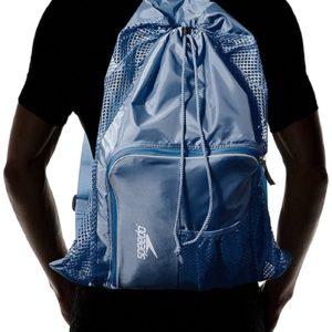 Speedo Bolsa de malla con ventilación para equipo Azul Insignia
