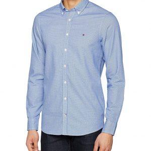 Tommy Hilfiger Camisa Awol Dobby Sf2 Camisa azul para Hombre