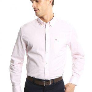 Tommy Hilfiger Camisa Fitzgerald Stripe Shirt - Ls Camisa para Hombre