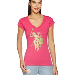 US POLO ASSN LU1339 Camiseta Deportiva para Mujer