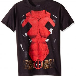 Marvel AMDEAD004M Camiseta para Hombre