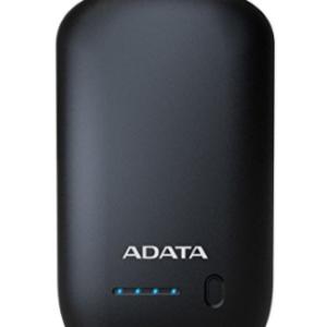 ADATA AP10050-DUSB-5V-CBK Bateria de Litio Recargable de 10050 mAh, color Negro