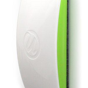 Borrador magnético de borrado en seco superficie de goma de borrar, parte inferior de fieltro, 11.4 x 5.7 x 2.5 cm