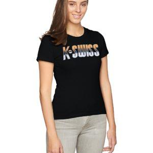 K-Swiss T371WNEG Camiseta para Mujer