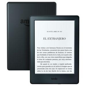 Kindle, pantalla E-ink sin reflejos, batería que dura semanas, color Negro, Wi-Fi, 2016, 8 generación