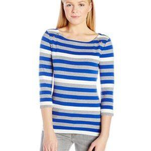 Tommy Hilfiger 1A57673106 Camiseta de Manga Larga para Mujera