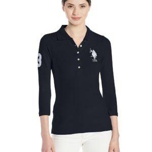 US POLO ASSN LU3118-216 Camiseta de Manga Larga para Mujer